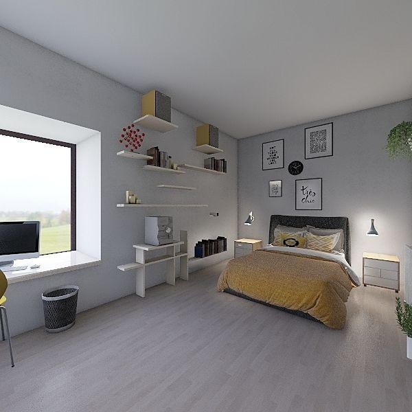 Un appart pour 2  Interior Design Render