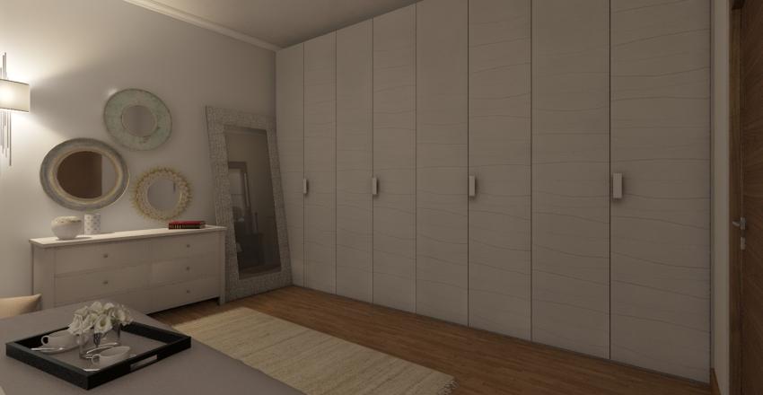 Small flat Interior Design Render