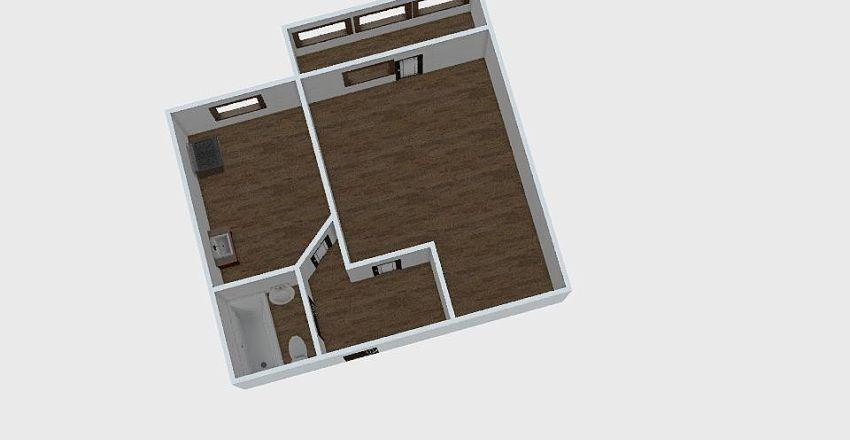 1-комн_0312 Interior Design Render