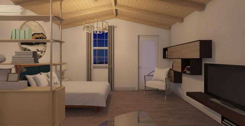 apartamento invitados Interior Design Render