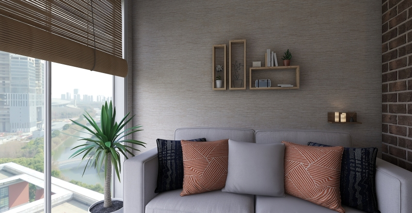 MiniRoom Interior Design Render