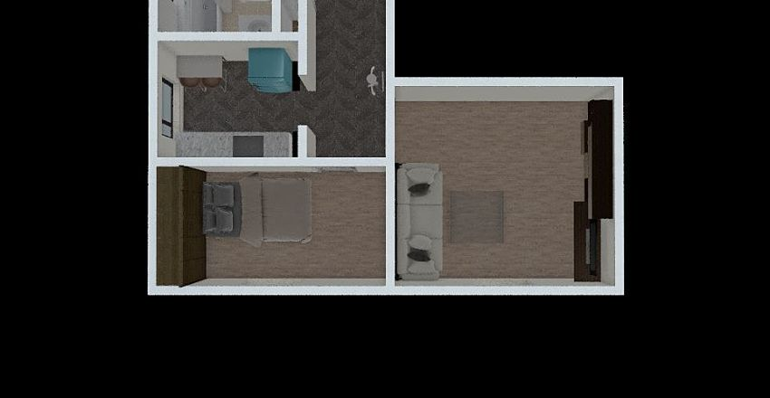 Czarnieckiego10 Interior Design Render