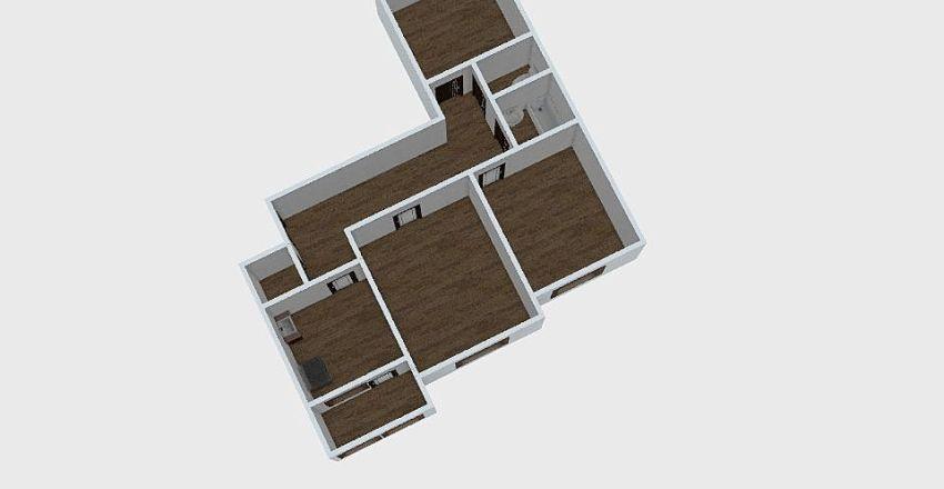 3-комн_0207 Interior Design Render