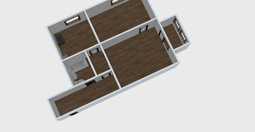 2-комн_0299 Interior Design Render