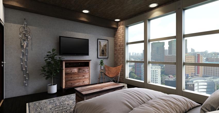 Cozy Corner  Interior Design Render