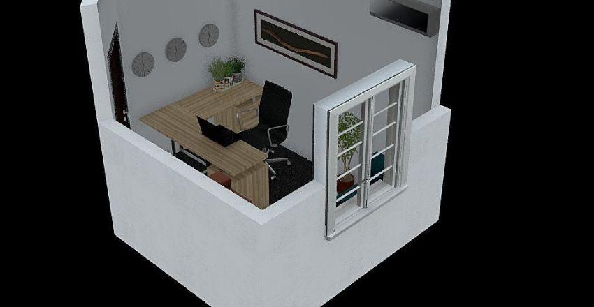 Office 3 Interior Design Render