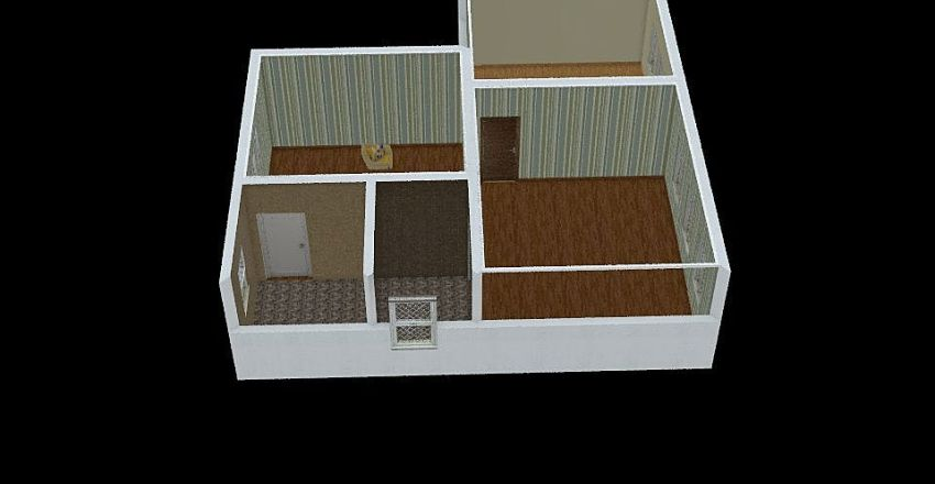 Template5 Interior Design Render