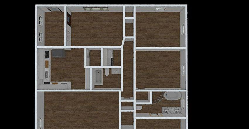 677 Scott Cir - Final Layout - B Interior Design Render