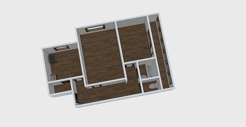 2-комн_047_2 Interior Design Render