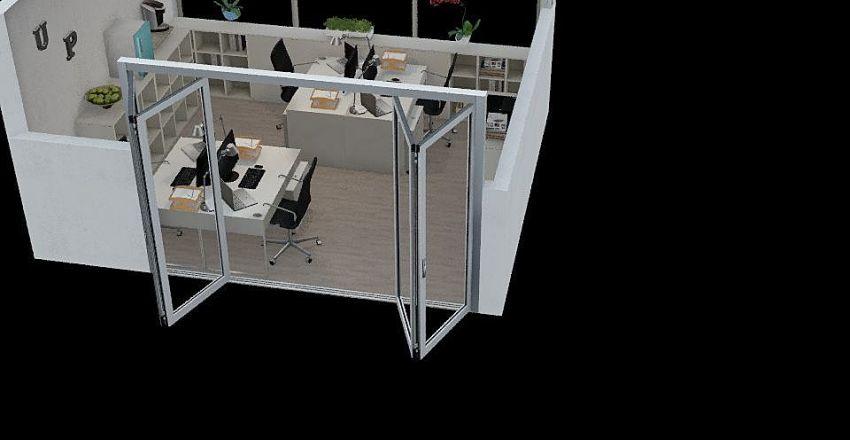 Office 320 - Dani and Vale Room Interior Design Render
