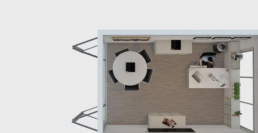 Office 302 - Alex's Office  Interior Design Render