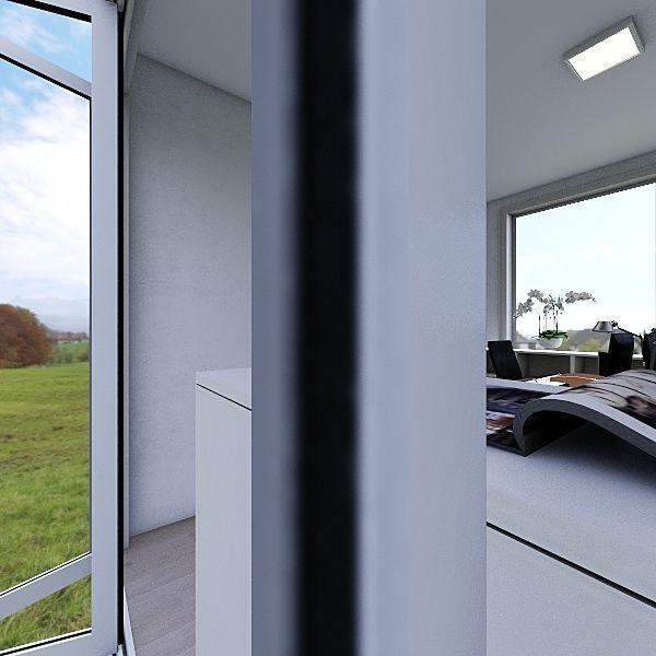 Cristina's Room - 319 Interior Design Render
