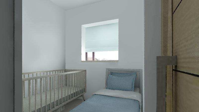 cc- papel parede Interior Design Render