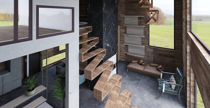 chateau Interior Design Render