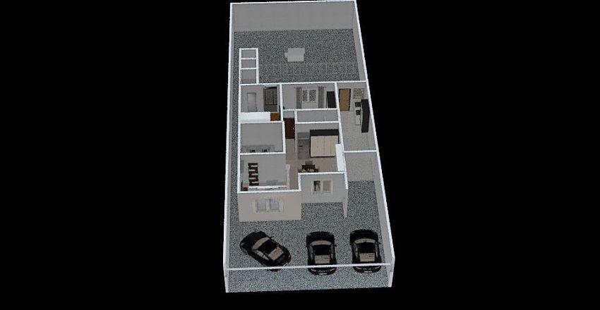 SALA INTEGRADA Interior Design Render