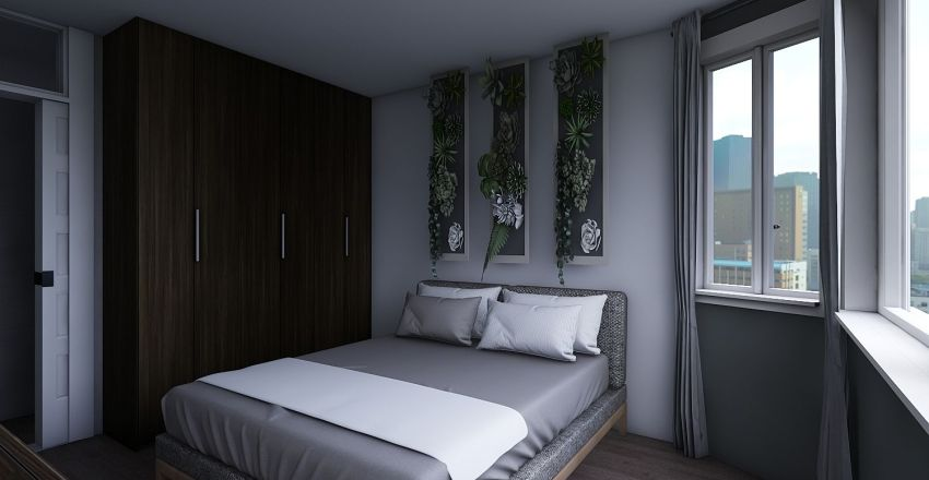 T3 Fontainhas Interior Design Render