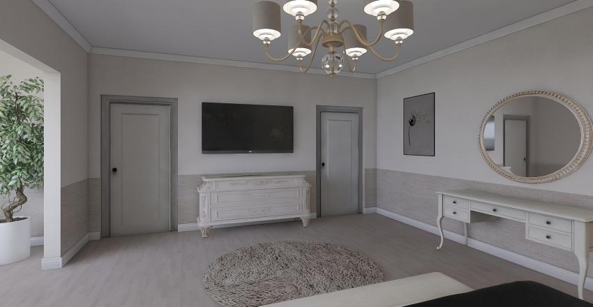 Study room Interior Design Render