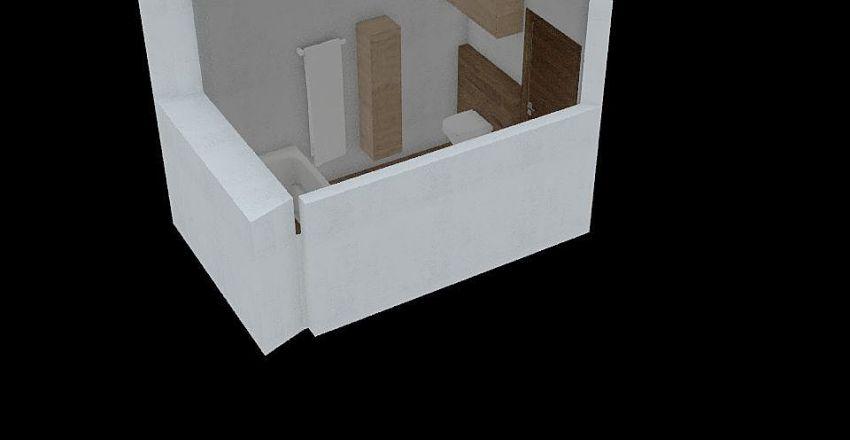 fürdő Interior Design Render