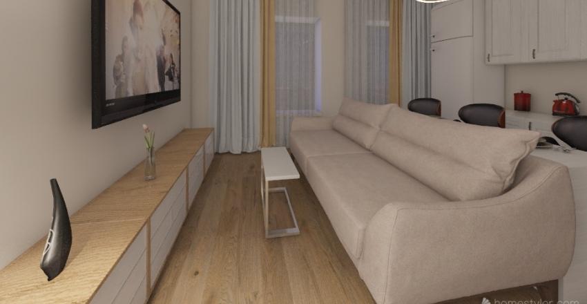 Apartment Clever Park Interior Design Render