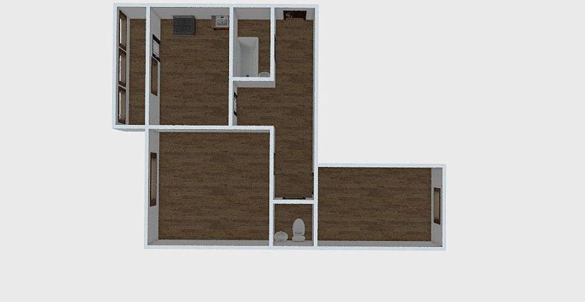 2-комн_0301 Interior Design Render