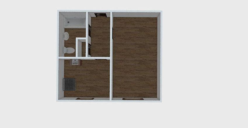 1-комн_0315 Interior Design Render