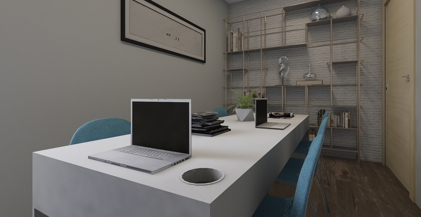 work Interior Design Render