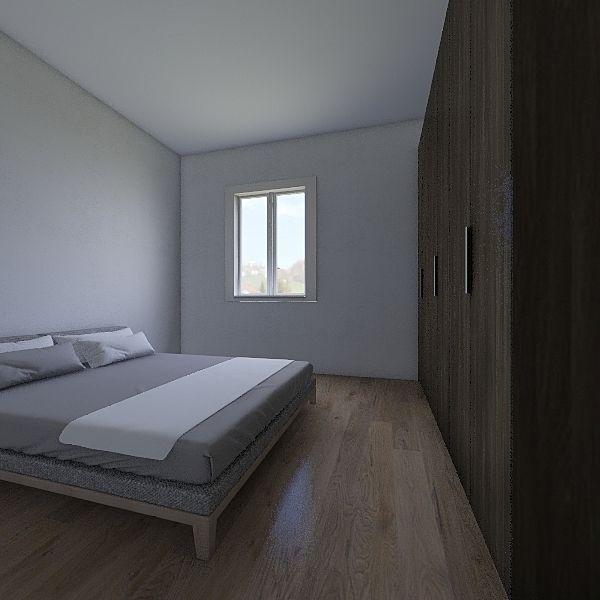 miguel  zurita 77m2 Interior Design Render