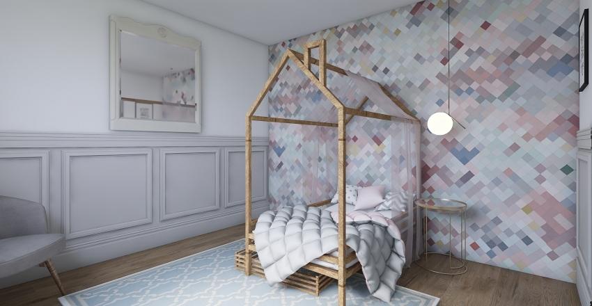 Cosy House Interior Design Render