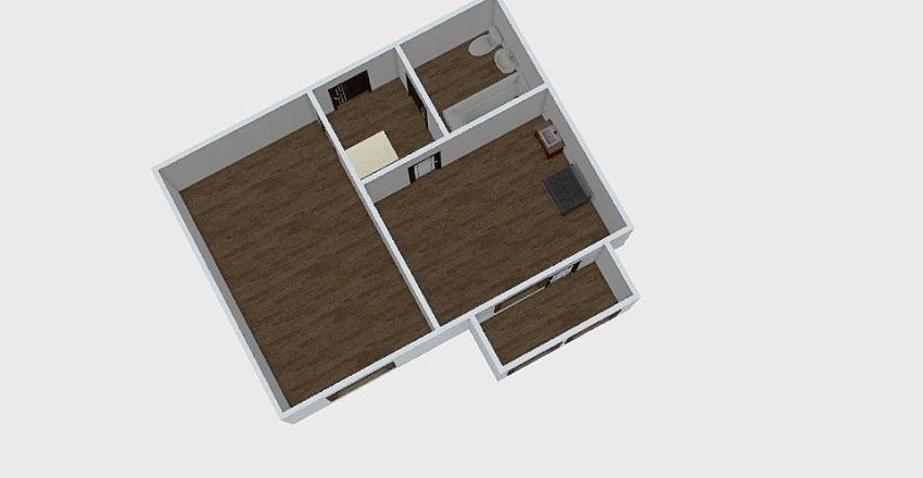 1-комн_078_3 Interior Design Render
