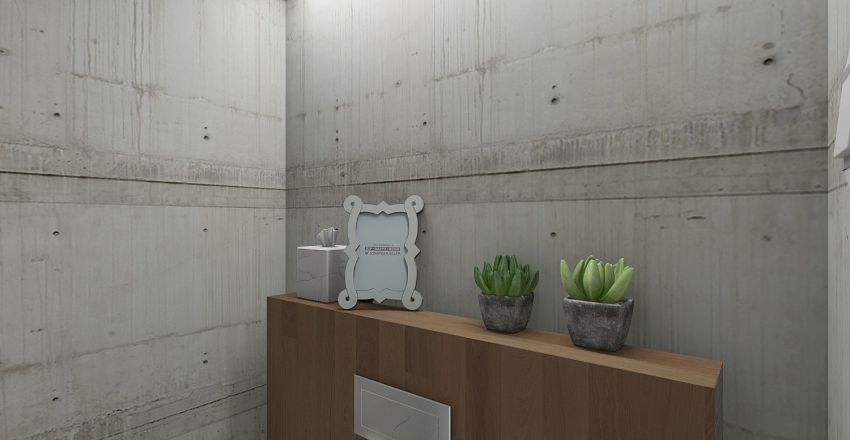 Stylish bedroom Interior Design Render