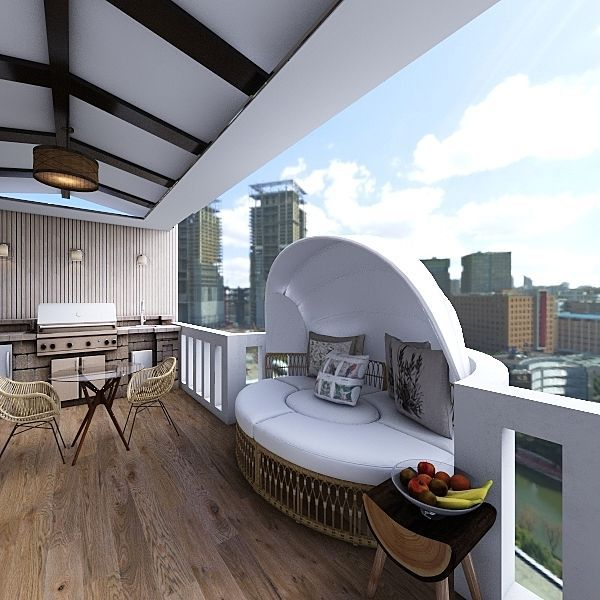 La Terraza Iri Interior Design Render