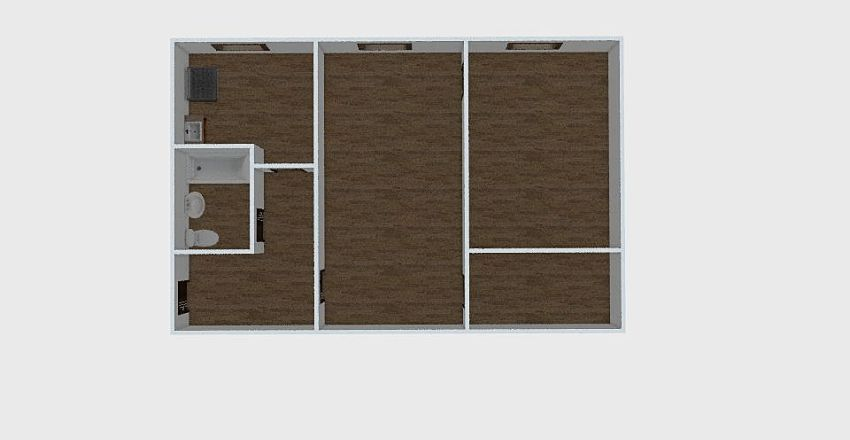 2-комн_0302 Interior Design Render