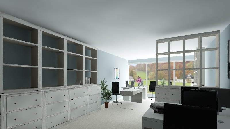 office_sent Interior Design Render