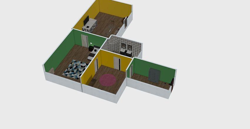 apartment dream Interior Design Render
