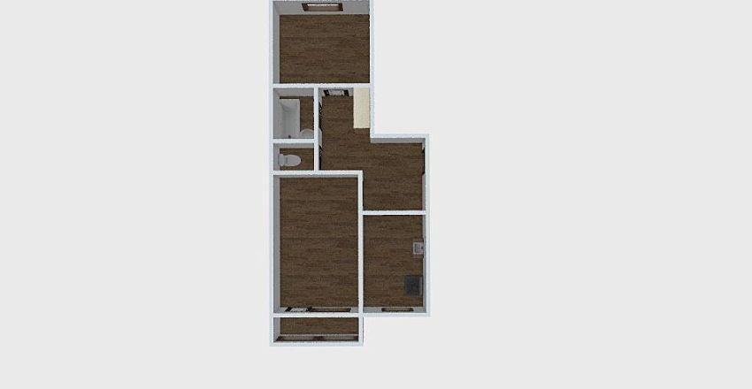 2-комн_048_3 Interior Design Render