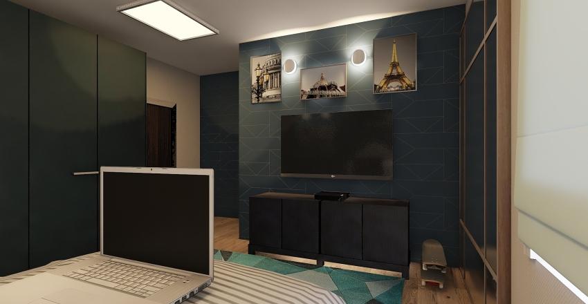 Quarto menino  Interior Design Render