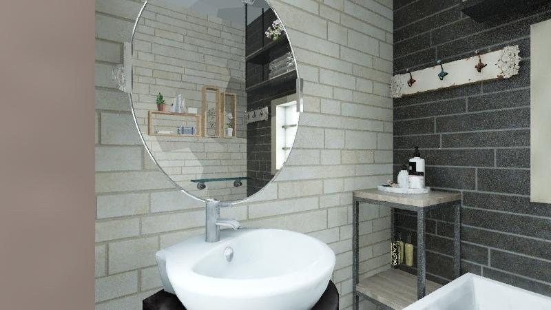 1 bdrm lil' loft Interior Design Render