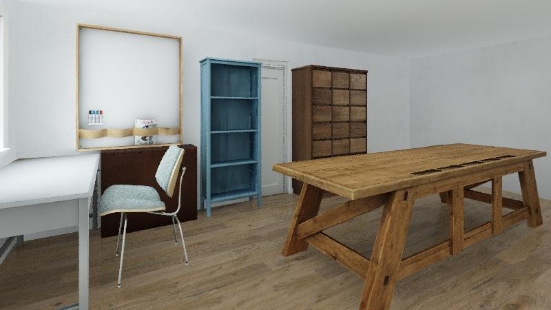Garaż by Gederyn Interior Design Render