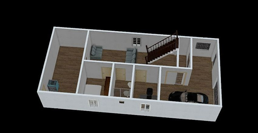 binho casa 3.4 Interior Design Render