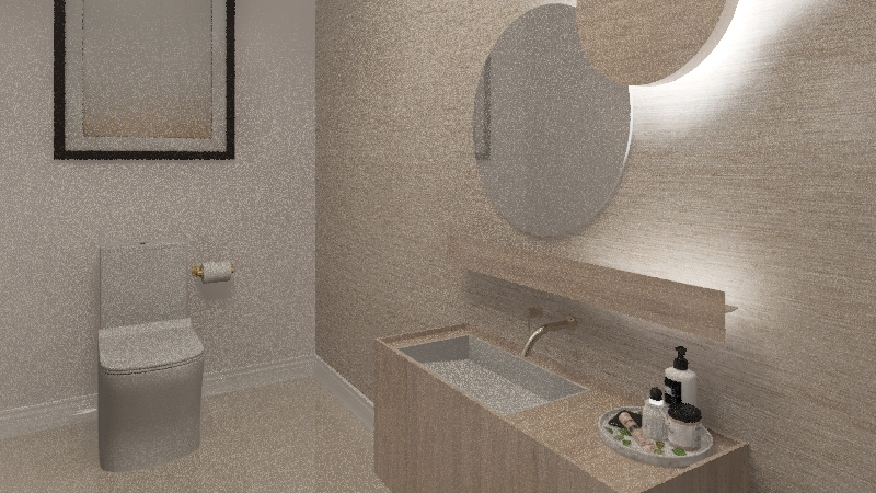 Minimalist Apartment (Apartamento minimalista) Interior Design Render