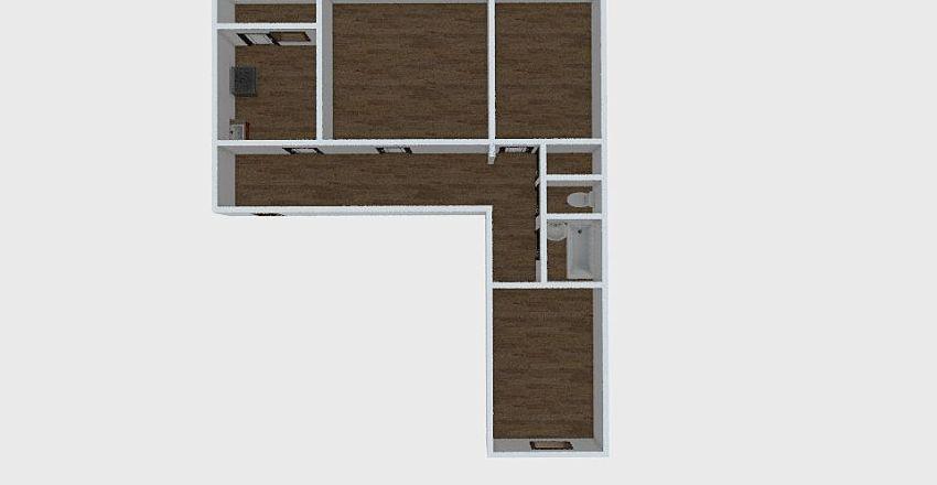 3-комн_030_1 Interior Design Render