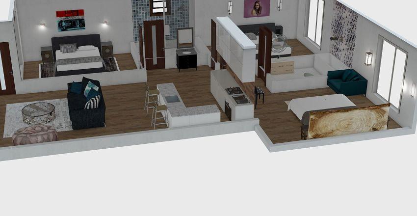 kaigai Interior Design Render