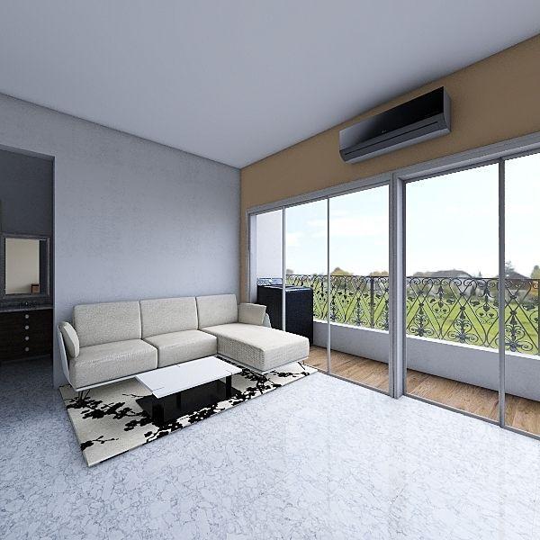 Madar Challa Flat3 Interior Design Render