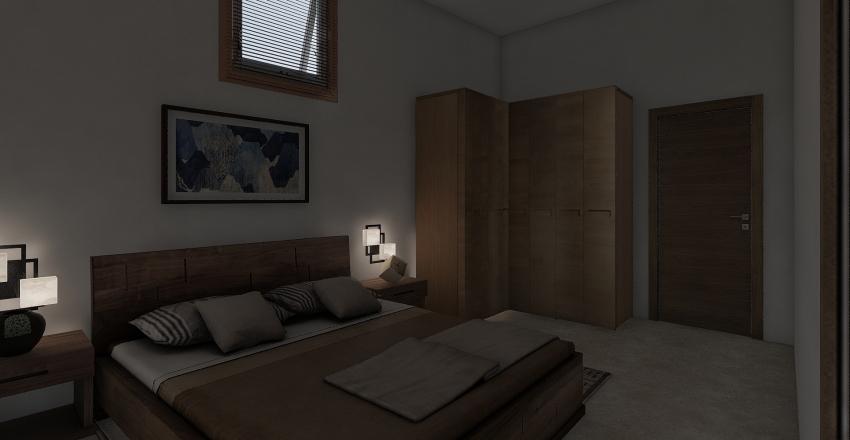 PIANTA Camera da Letto Interior Design Render