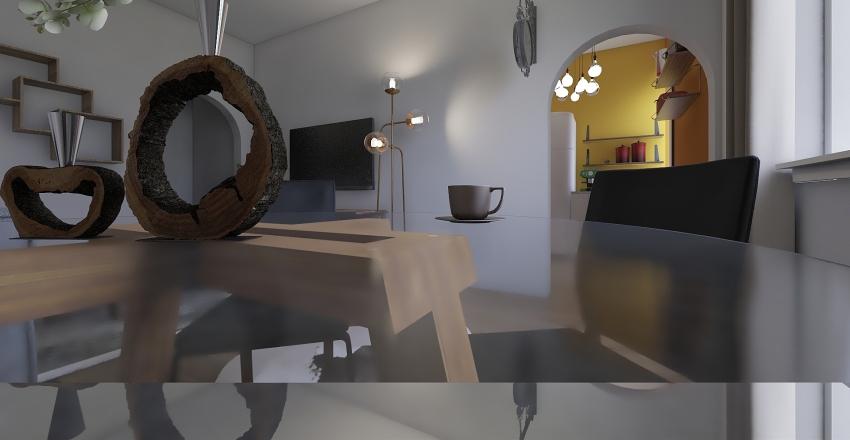 progetto papà Interior Design Render