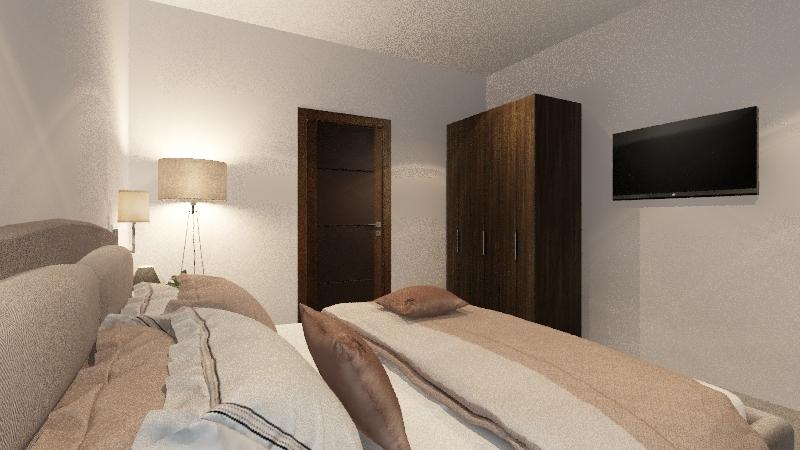 Summit Shed 20 x 50 Interior Design Render