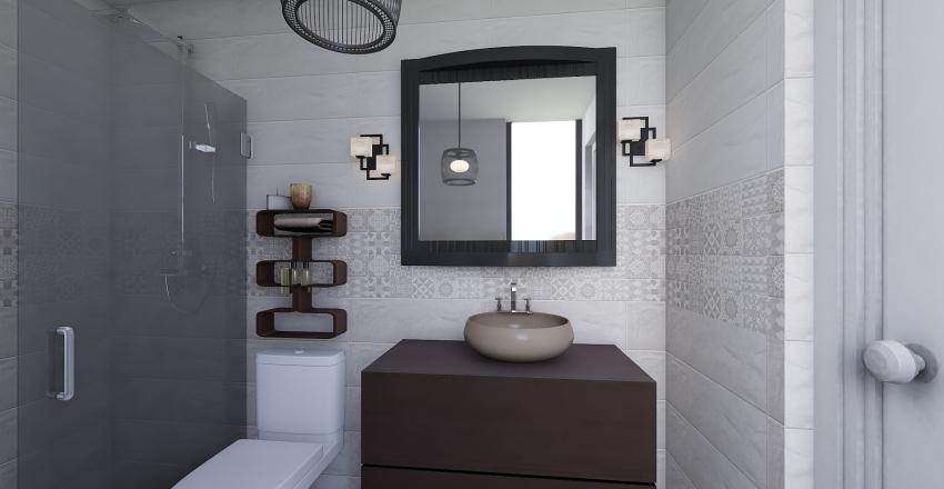 baño pequeño travis Interior Design Render