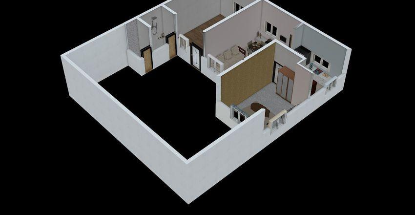 new home plan(2) of mahesh sir Interior Design Render