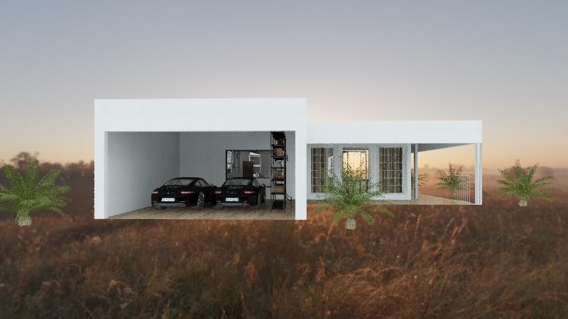 Casa do brainho Interior Design Render
