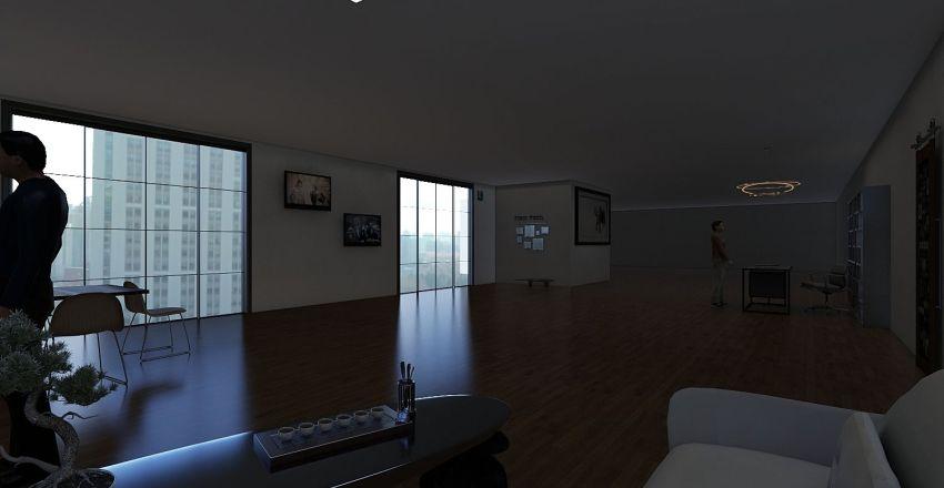 uffici Interior Design Render